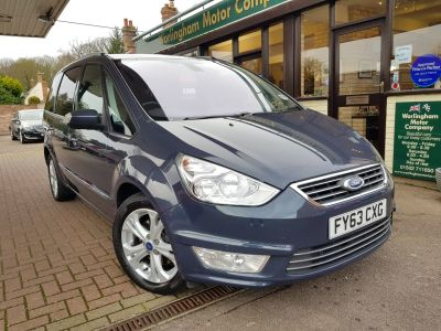 Ford Galaxy 2.0 TDCi 163 Titanium 5dr Powershift MPV Diesel Grey at Worlingham Motor Company Beccles