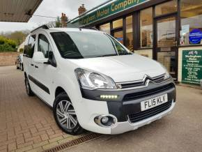 Citroen Berlingo Multispace 1.6 e-HDi 90 XTR 5dr ETG6 MPV Diesel White at Worlingham Motor Company Beccles