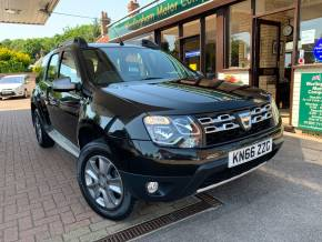Dacia Duster 1.5 dCi 110 Laureate 5dr Hatchback Diesel Black at Worlingham Motor Company Beccles