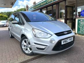 Ford S-MAX 2.0 TDCi 140 Titanium 5dr MPV Diesel Silver at Worlingham Motor Company Beccles