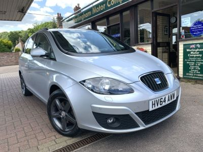 SEAT Altea XL 2.0 TDI CR I Tech 5dr Estate Diesel Silver at Worlingham Motor Company Beccles