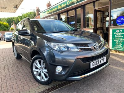 Toyota Rav-4 2.2 D-4D Icon 5dr Estate Diesel Grey at Worlingham Motor Company Beccles