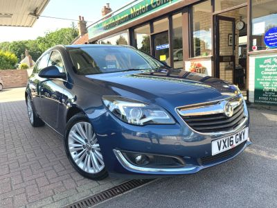 Vauxhall Insignia 1.6 CDTi ecoFLEX Tech Line 5dr [Start Stop] Estate Diesel Blue at Worlingham Motor Company Beccles