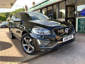 Volvo XC60 2.4 D5 [220] R DESIGN Lux Nav 5dr AWD Geartronic Estate Diesel Black at Worlingham Motor Company Beccles