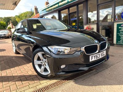 BMW 3 Series 1.6 316i SE 4dr Saloon Petrol Black at Worlingham Motor Company Beccles