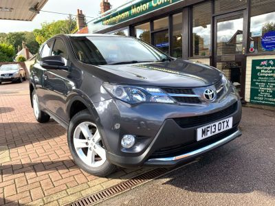 Toyota Rav-4 2.0 D-4D Icon 5dr 2WD Estate Diesel Grey at Worlingham Motor Company Beccles