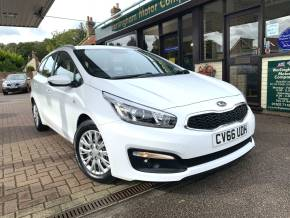 Kia Ceed 1.4 CRDi 1 5dr Estate Diesel White at Worlingham Motor Company Beccles