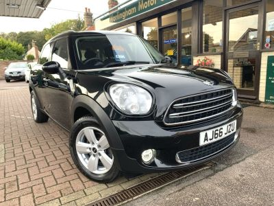 Mini Countryman 1.6 One 5dr Hatchback Petrol Black at Worlingham Motor Company Beccles