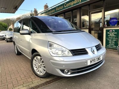Renault Grand Espace 2.0 dCi Dynamique TomTom Init Lux Pack 5dr Auto MPV Diesel Silver at Worlingham Motor Company Beccles