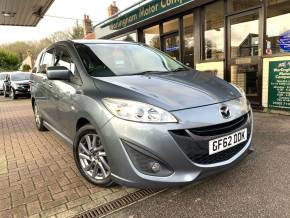 Mazda 5 1.6d Venture Edition 5dr MPV Diesel Grey at Worlingham Motor Company Beccles