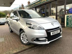Renault Scenic 1.5 dCi Dynamique TomTom 5dr MPV Diesel Silver at Worlingham Motor Company Beccles