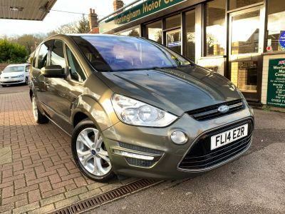 Ford S-MAX 2.0 TDCi 140 Titanium 5dr Powershift MPV Diesel Green at Worlingham Motor Company Beccles