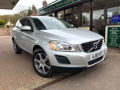 Volvo XC60 2.4 D5 [215] SE Lux 5dr AWD Geartronic Estate Diesel Silver at Worlingham Motor Company Beccles