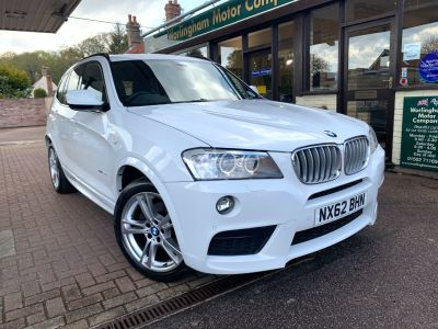BMW X3 3.0 xDrive30d M Sport 5dr Step Auto Estate Diesel White at Worlingham Motor Company Beccles