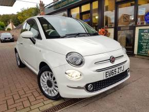 Fiat 500 1.2 Lounge 3dr Hatchback Petrol White at Worlingham Motor Company Beccles