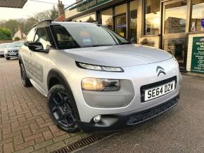 Citroen C4 Cactus 1.6 BlueHDi Feel 5dr Hatchback Diesel Silver at Worlingham Motor Company Beccles